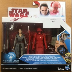 FIGURINE STAR WARS REY ELITE PRAETORIAN GUARD FORCE LINK de chez HASBRO NEUF
