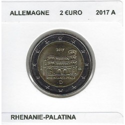 ALLEMAGNE 2017 A  2 EURO COMMEMORATIVE RHENANIE PALATINA SUP