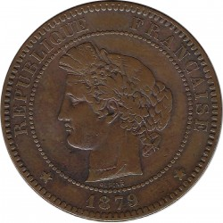 FRANCE 10 CENTIMES CERES 1879 A TB+