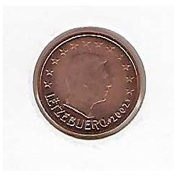 Luxembourg 2002 2 CENTIMES SUP