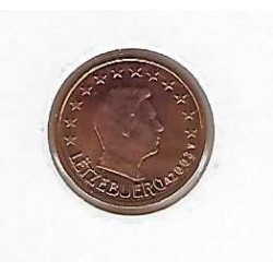LUXEMBOURG 2003 2 CENTIMES SUP
