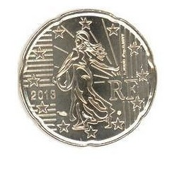 FRANCE 20 CENTIMES 2013 SUP