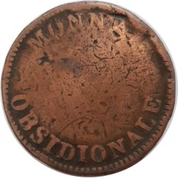 FRANCE 10 CENTIMES OBSIDIONALE 1814 B- G193a