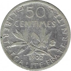 FRANCE 50 CENTIMES ROTY...