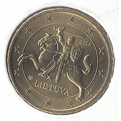 LITHUANIE  5 CENTIMES  2015