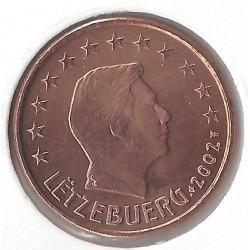 LUXEMBOURG 5 CENTIMES 2002 SUP-