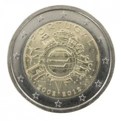 Portugal 2012 commemorative 10ANS EURO