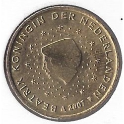 HOLLANDE (PAYS-BAS) 2007 50 CENTIMES SUP