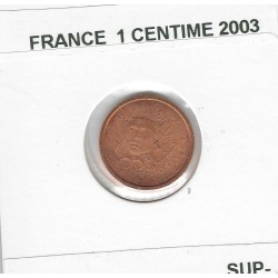 France 2003 1 CENTIME SUP-