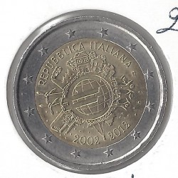 Italie 2012 commemorative 10 ANS EURO