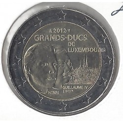 Luxembourg  2 €URO COMMEMORATIVE  GRANDS-DUCS 2012