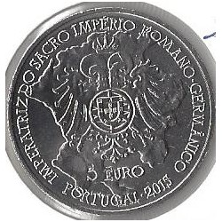 PORTUGAL 5 EURO 2015 D.ISABEL DE PORTUGAL SUP