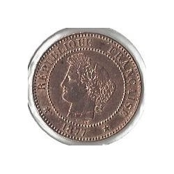 2 CENTIMES CERES 1877 A SUP