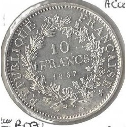 10 FRANCS HERCULE 1967 ACCENT  SUP-