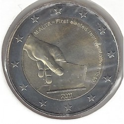 MALTE 2011 2 Euro COMMEMORATIVE