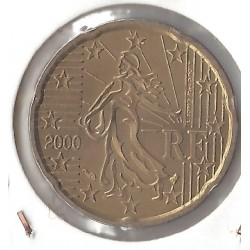 France 2000 20 CENTIMES SUP-