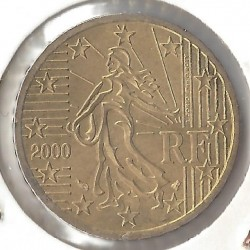 France 2000 50 CENTIMES SUP-
