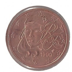 France 1999 2 CENTIMES