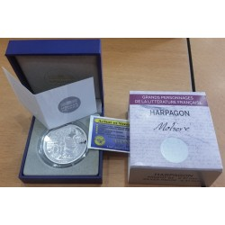 ARPAGON MOLIERE L'AVARE 10 €uro Argent BE 2014