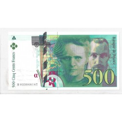FRANCE 500 FRANCS P. M CURIE R.023481-- 1994 NEUF