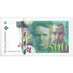 FRANCE 500 FRANCS P. M CURIE H0304671-- 1994 NEUF