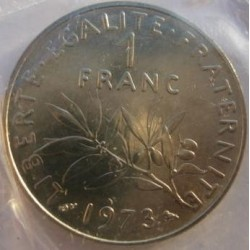 FRANCE 1 FRANC ROTY 1973 SUP