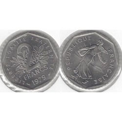 FRANCE 2 FRANCS ROTY 1979...