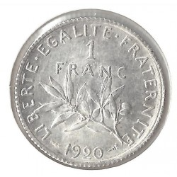 1 FRANC ROTY 1920 SUP