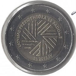 LETTONIE 2 EURO COMMEMORATIVE 2015