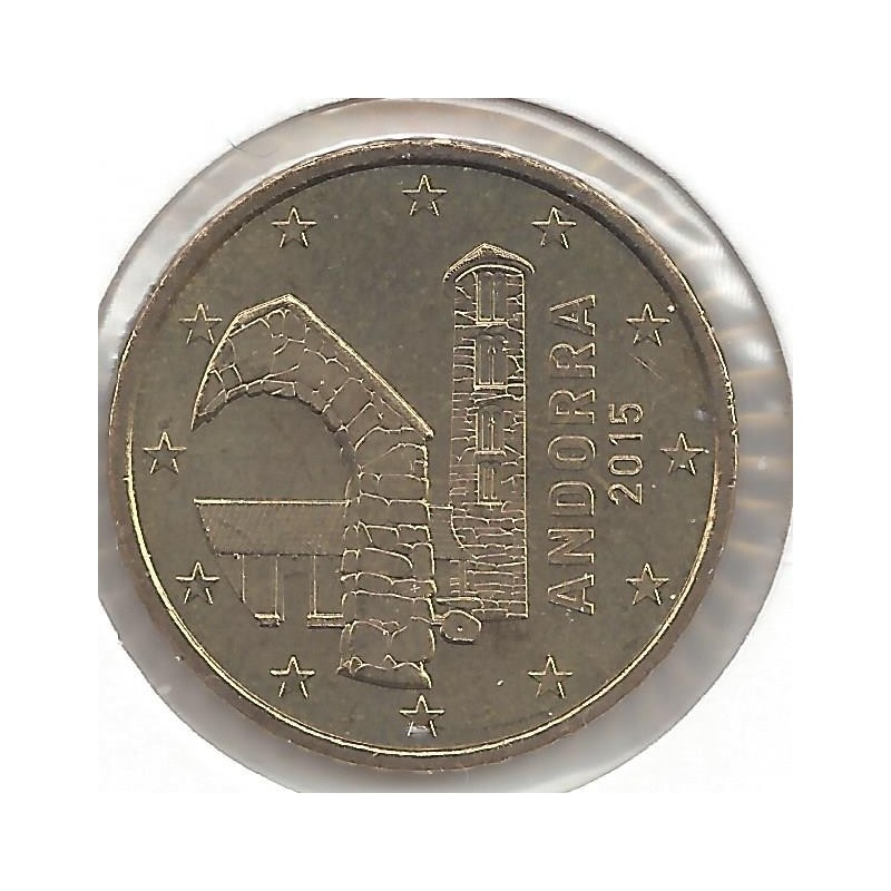 ANDORRE 2015 50 CENTIMES SUP
