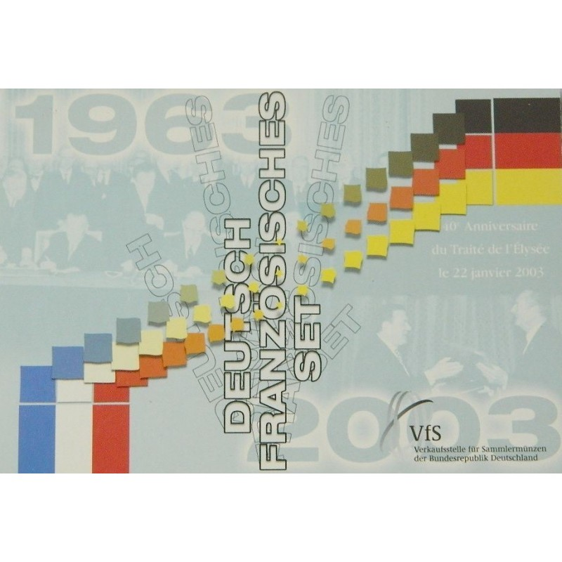 SET FRANCO ALLEMAND 2003 BU TRAITE DE L'ELYSEE