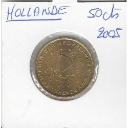 HOLLANDE (PAYS-BAS) 2005 50 CENTIMES SUP