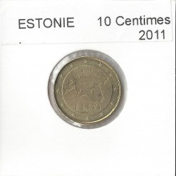ESTONIE 2011 10 CENTIMES SUP
