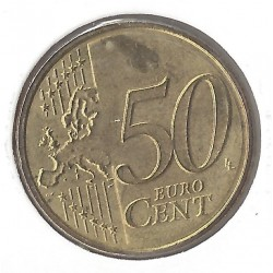 Luxembourg 2008 50 CENTIMES SUP