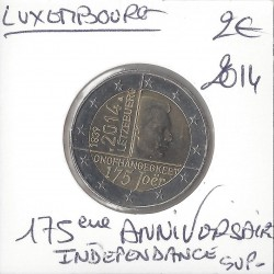 Luxembourg 2014 commemorative