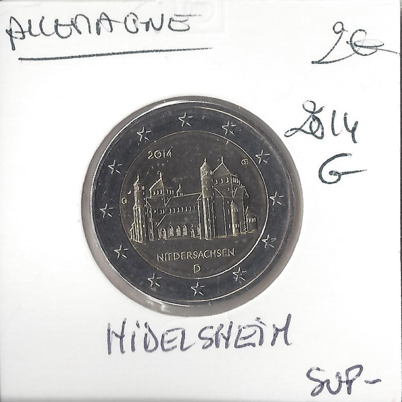 Allemagne 2014 G 2 EURO COMMEMORATIVE HIDELSHEIM SUP