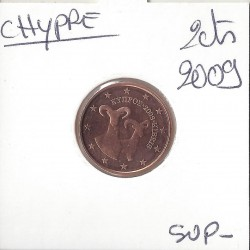 CHYPRE 2009 2 CENTIMES SUP
