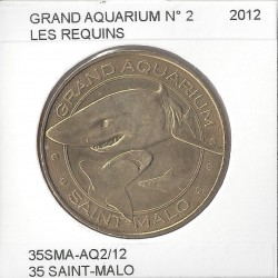 35 SAINT MALO GRAND AQUARIUM Numero 2 LES REQUINS 2012  SUP