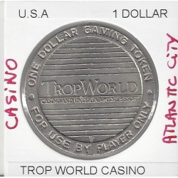 CASINO ATLANTIC CITY 1 DOLLAR TROPWORLD