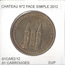 61 CARROUGES CHATEAU Numero 2 FACE SIMPLE 2012 SUP