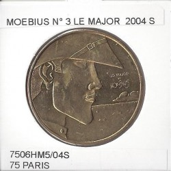 75 PARIS MOEBIUS LE MAJOR  Numero 3 2004 S  SUP