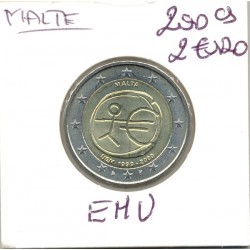 MALTE 2009 2 Euro COMMEMORATIVE E.M.U