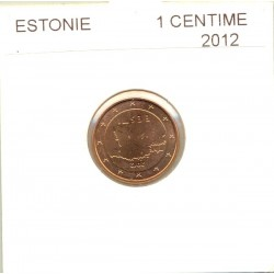 ESTONIE 2012 1 CENTIME SUP