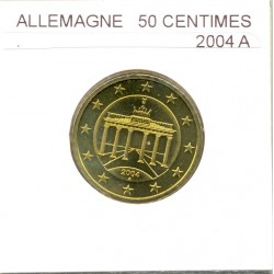 Allemagne 2004 A 50 CENTIMES SUP