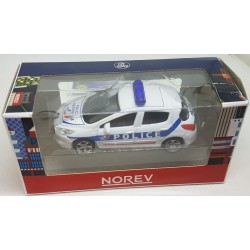 319211 EMERGENCY PEUGEOT 308 POLICE NOREV 3 inch 1/64 1:64