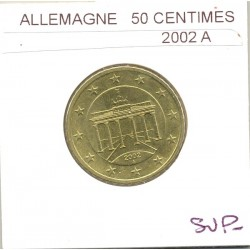 ALLEMAGNE 2002 A 50 CENTIMES SUP