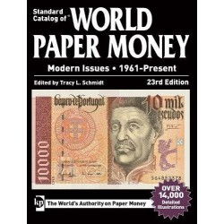 WORLD PAPER MONEY 1961 - present Edition 23