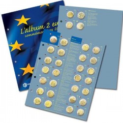 RECHARGE 2 EURO COMMEMORATIVES 2017 (Yvert)
