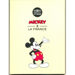 FRANCE 2018 50 EURO ARGENT MICKEY ET LA FRANCE COLORISEE MICKEY ETUDIANT BU