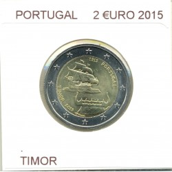 PORTUGAL 2015 2 EURO COMMEMORATIVE TIMOR SUP